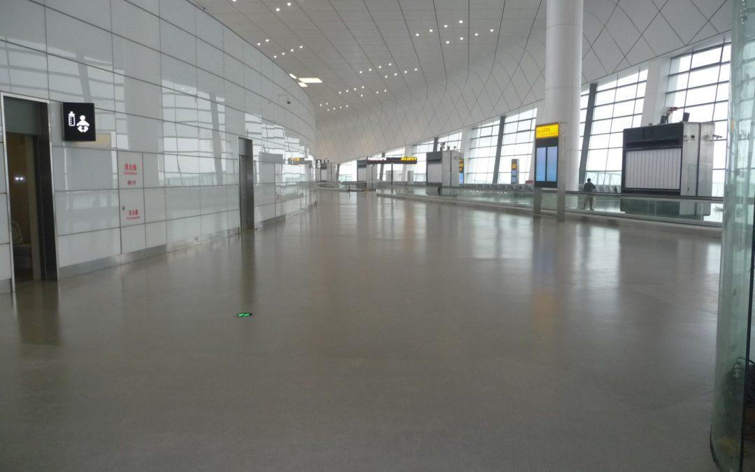 Zhengzou Airport, China