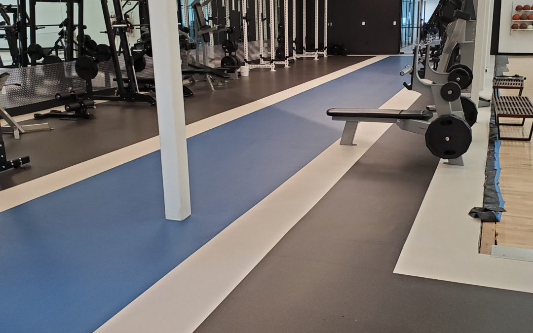 Malouf Mattress – Corporate Gym. Logan Utah